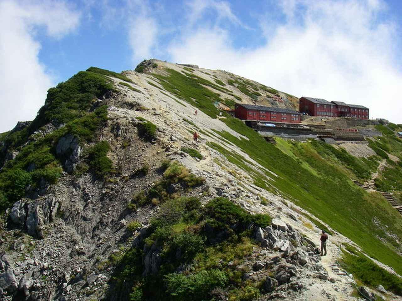 画像: 北アルプス・唐松岳頂上山荘