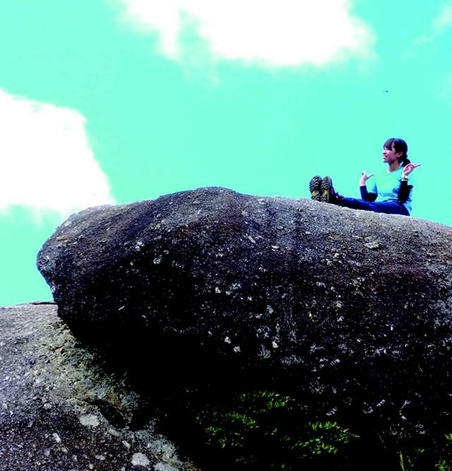 画像: 屋久島旅行中のスタッフ・佐藤瞳