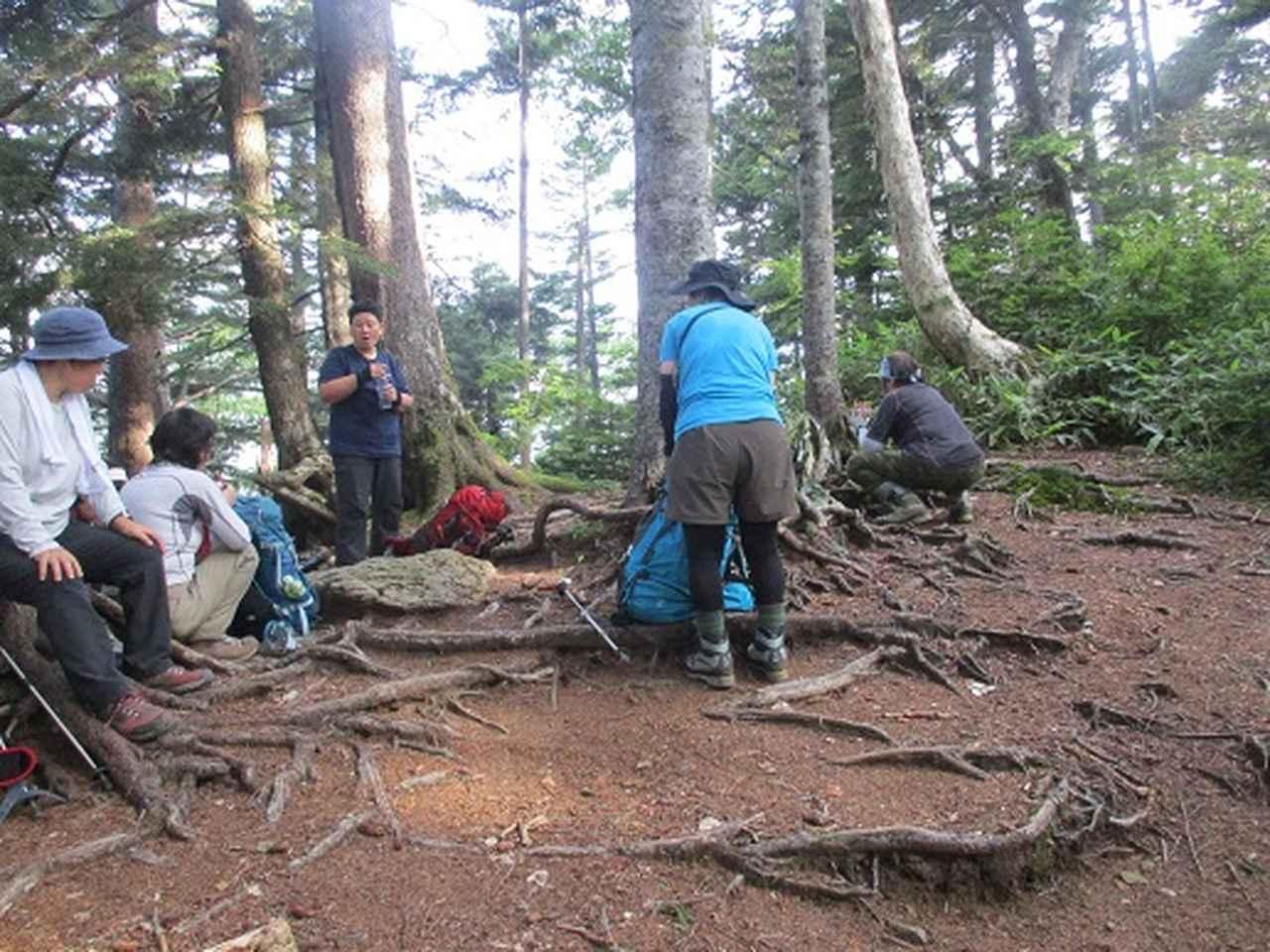 画像3: 【山旅会】蝶ヶ岳ツアーにいってまいりました!(その2)