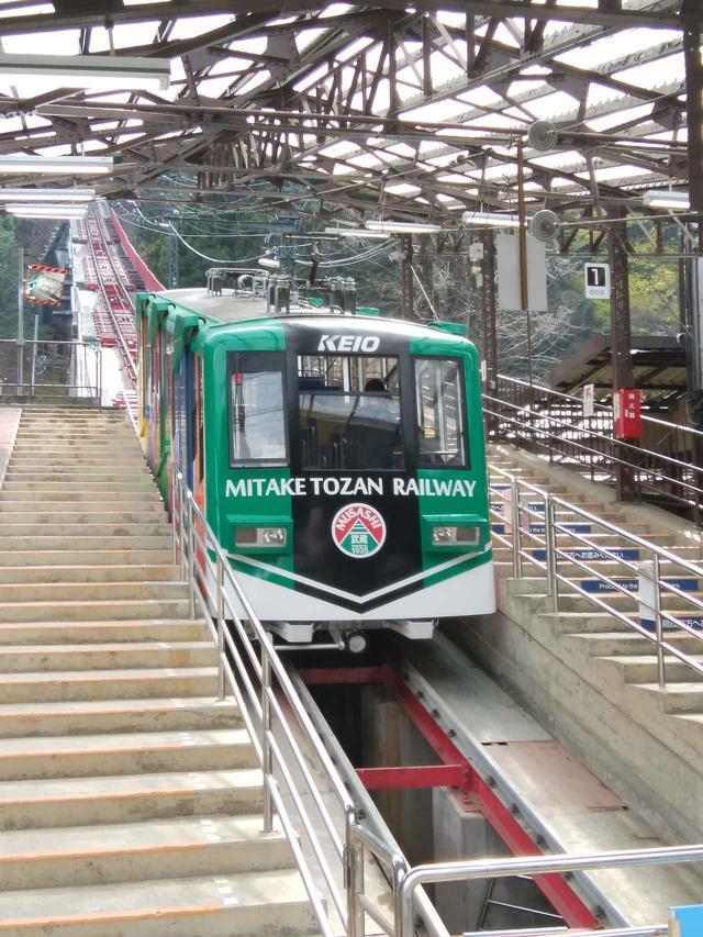 画像: 御岳山:御岳登山鉄道ケーブルカー(イメージ)