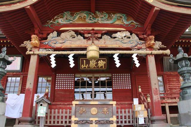 画像: 御岳山:御嶽神社・本堂(イメージ)