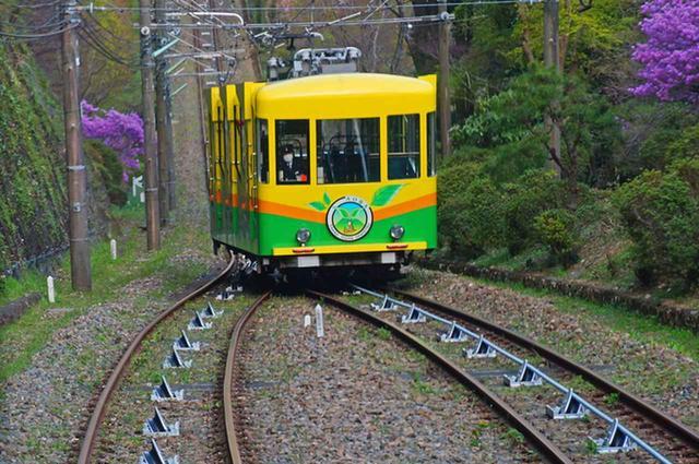 画像: 高尾山:高尾登山電鉄ケーブルカー(イメージ)