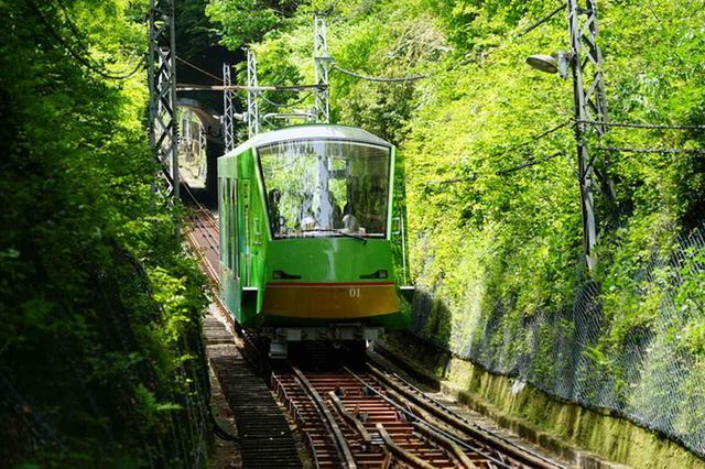 画像: 大山:大山観光電鉄ケーブルカー(イメージ)