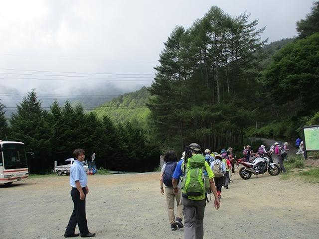 画像1: 【山旅会・登山ガイドこだわりツアー】添乗員からの便り・入笠山ツアーにいってまいりました!(その1)