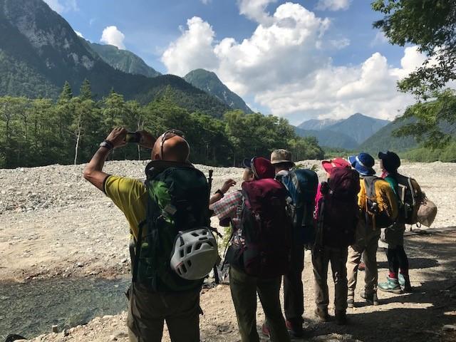 画像2: ツアー1日目 上高地から横尾山荘