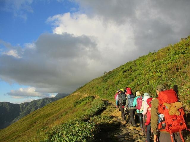 画像6: 【山旅会・登山ガイドこだわりツアー】添乗員からの便り・唐松岳ツアーにいってまいりました!(その2)