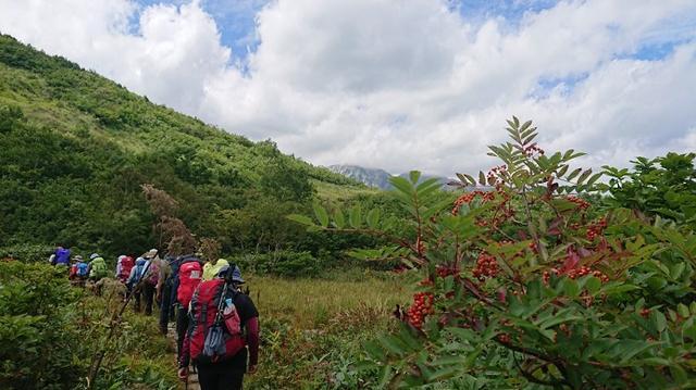 画像3: 【山旅会・登山ガイドこだわりツアー】添乗員からの便り・唐松岳ツアーにいってまいりました!(その1)