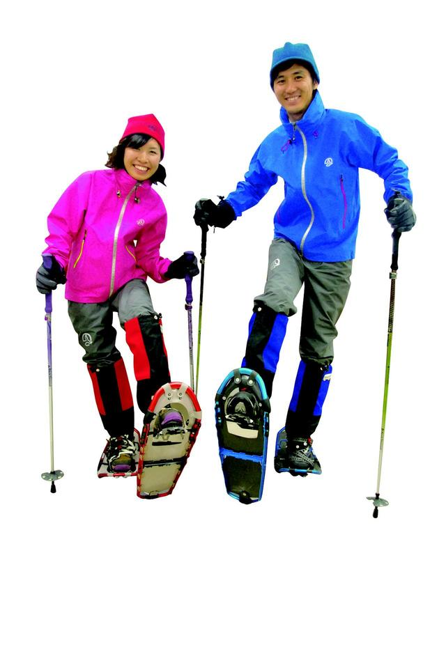 画像: スノーハイキングの一般的な服装(イメージ)