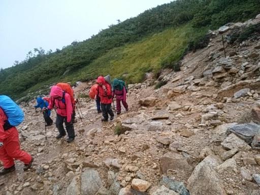 画像8: 【山旅会・登山ガイドこだわりツアー】岡田ガイドからの便り・唐松岳ツアーの2回目にいってまいりました!(その1)