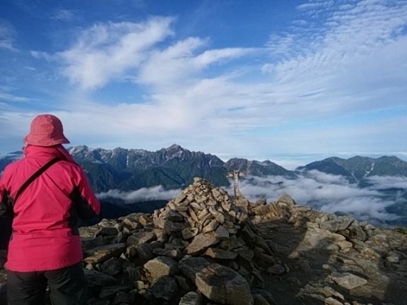画像2: 【山旅会・登山ガイドこだわりツアー】岡田ガイドからの便り・唐松岳ツアーの2回目にいってまいりました!(その2)