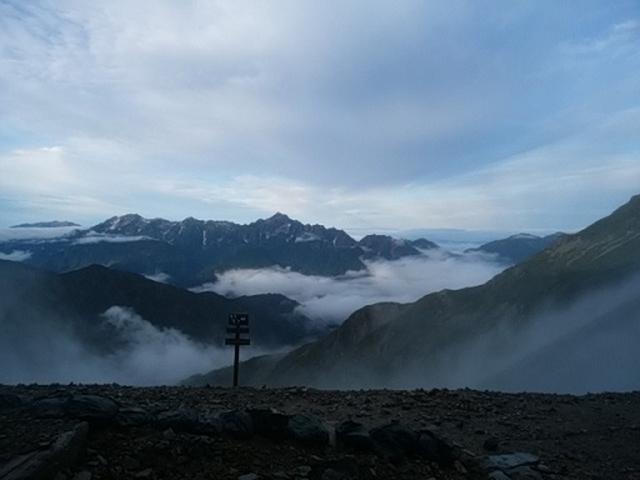 画像1: 【山旅会・登山ガイドこだわりツアー】岡田ガイドからの便り・唐松岳ツアーの2回目にいってまいりました!(その2)