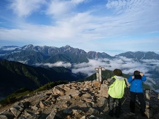 画像3: 【山旅会・登山ガイドこだわりツアー】岡田ガイドからの便り・唐松岳ツアーの2回目にいってまいりました!(その2)