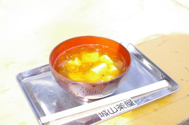 画像: 城山茶屋のなめこ汁
