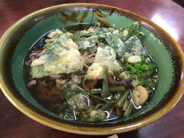 画像: 東沢山荘の山菜そば(イメージ)
