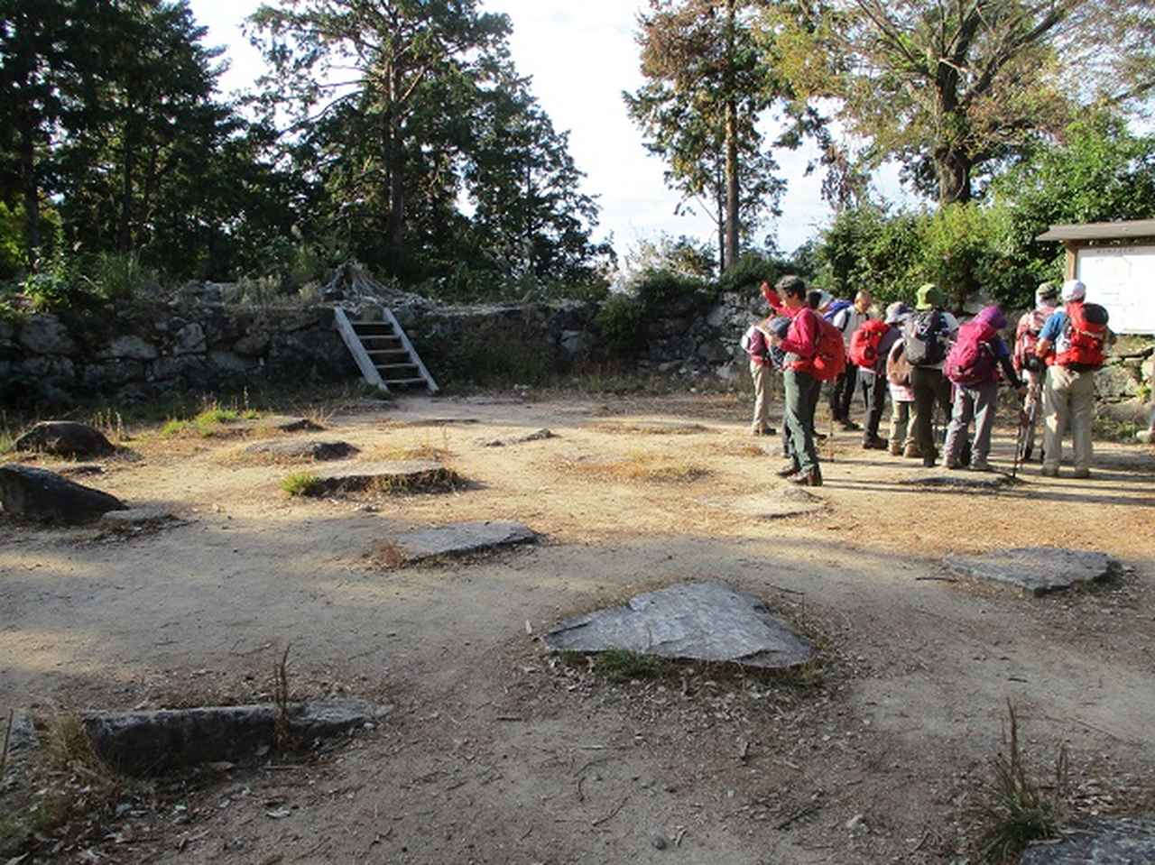 画像8: 【山旅会・登山ガイドこだわりツアー】岡田ガイドからの便り・安土城と繖(きぬがさ)山ツアーにいってまいりました!