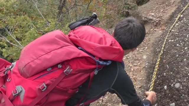 画像: 【山あるきへの招待状】岩登りin岩殿山 m.youtube.com