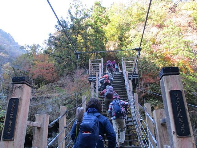 画像8: 11月21日に岡田ガイドのコースで、山梨県富士川町にたたずむ 大柳川渓谷 へ行って来ました♪