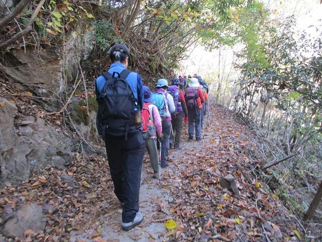画像2: 11月21日に岡田ガイドのコースで、山梨県富士川町にたたずむ 大柳川渓谷 へ行って来ました♪