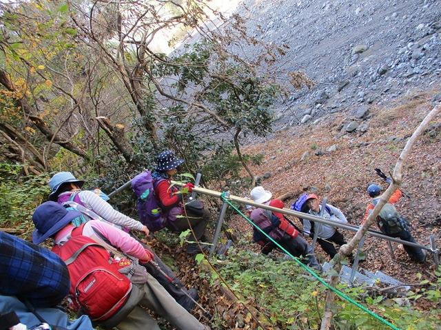 画像3: 11月21日に岡田ガイドのコースで、山梨県富士川町にたたずむ 大柳川渓谷 へ行って来ました♪