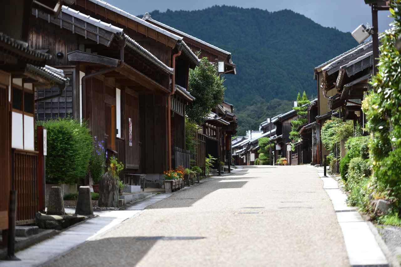 画像: 関宿の街並