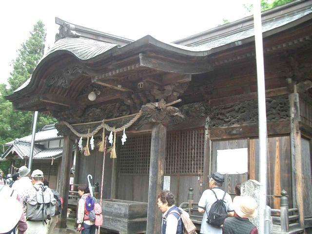画像: 第18回:八幡神社の立派な木彫