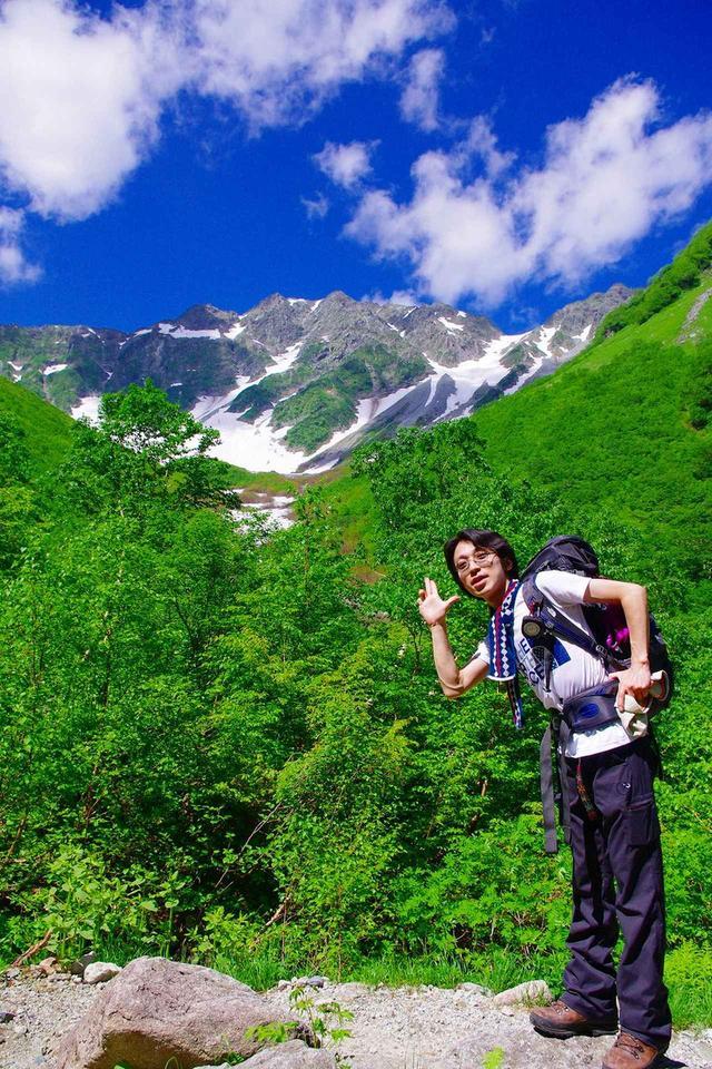 画像: 登山ガイドの鷲尾さん