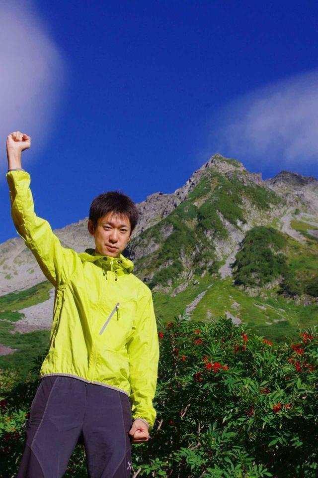 画像: 登山ガイドの窪田さん