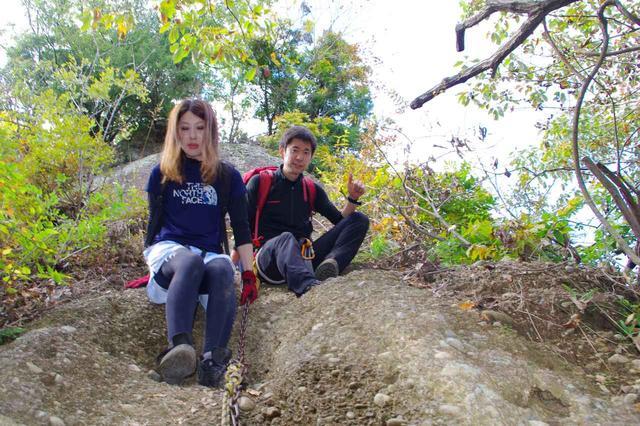 画像2: 11月:山梨県・岩殿山で岩登り体験とバーナークッキングで手づくり山ごはん★