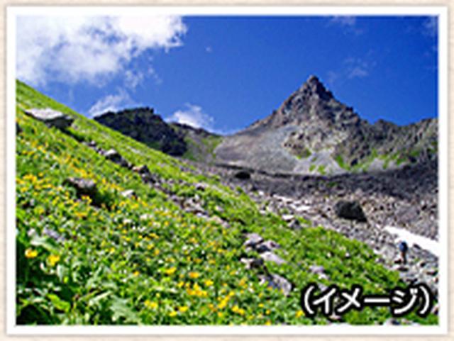 画像: 槍ヶ岳に登り隊
