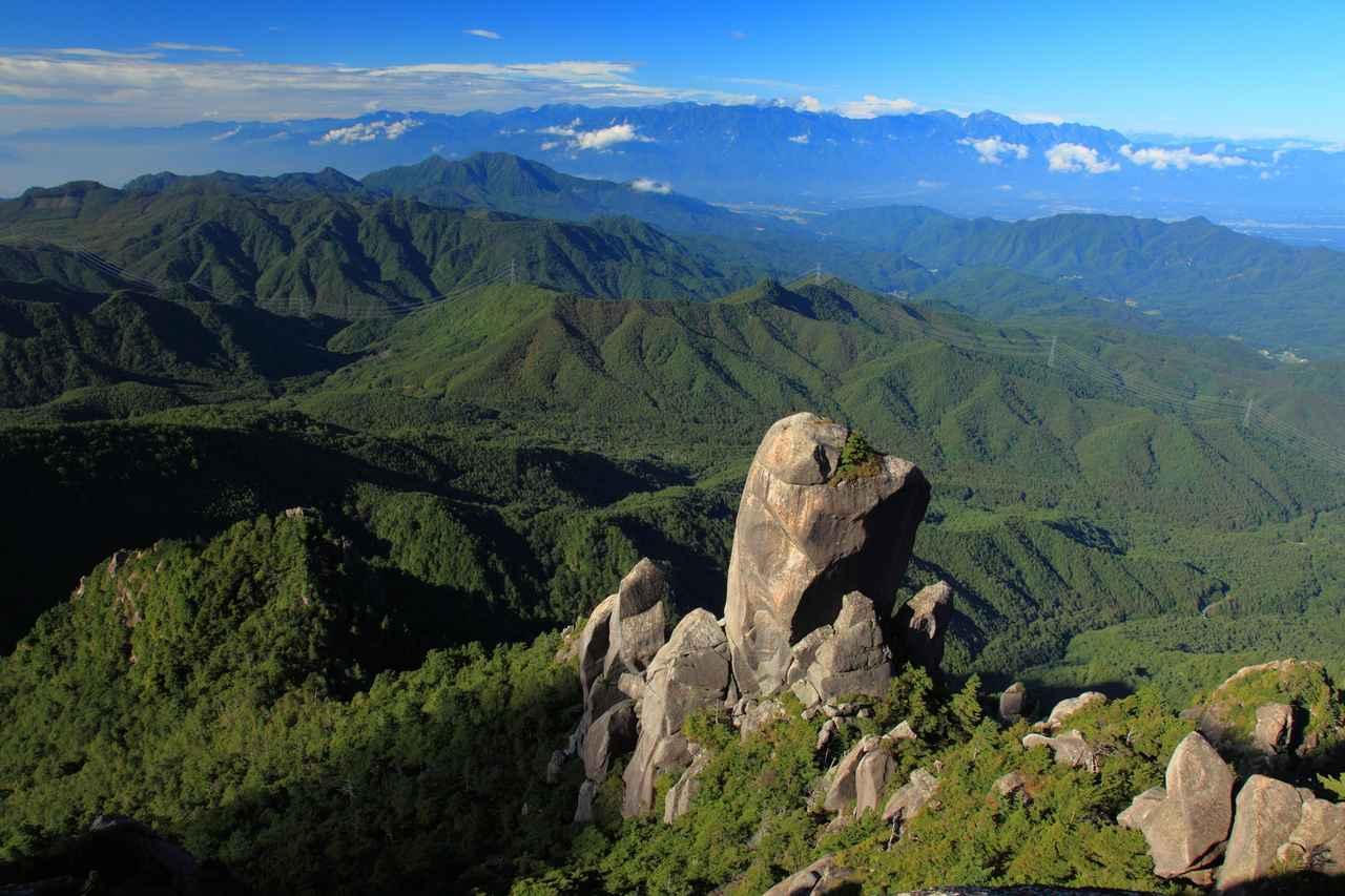 画像: 瑞牆山からの絶景