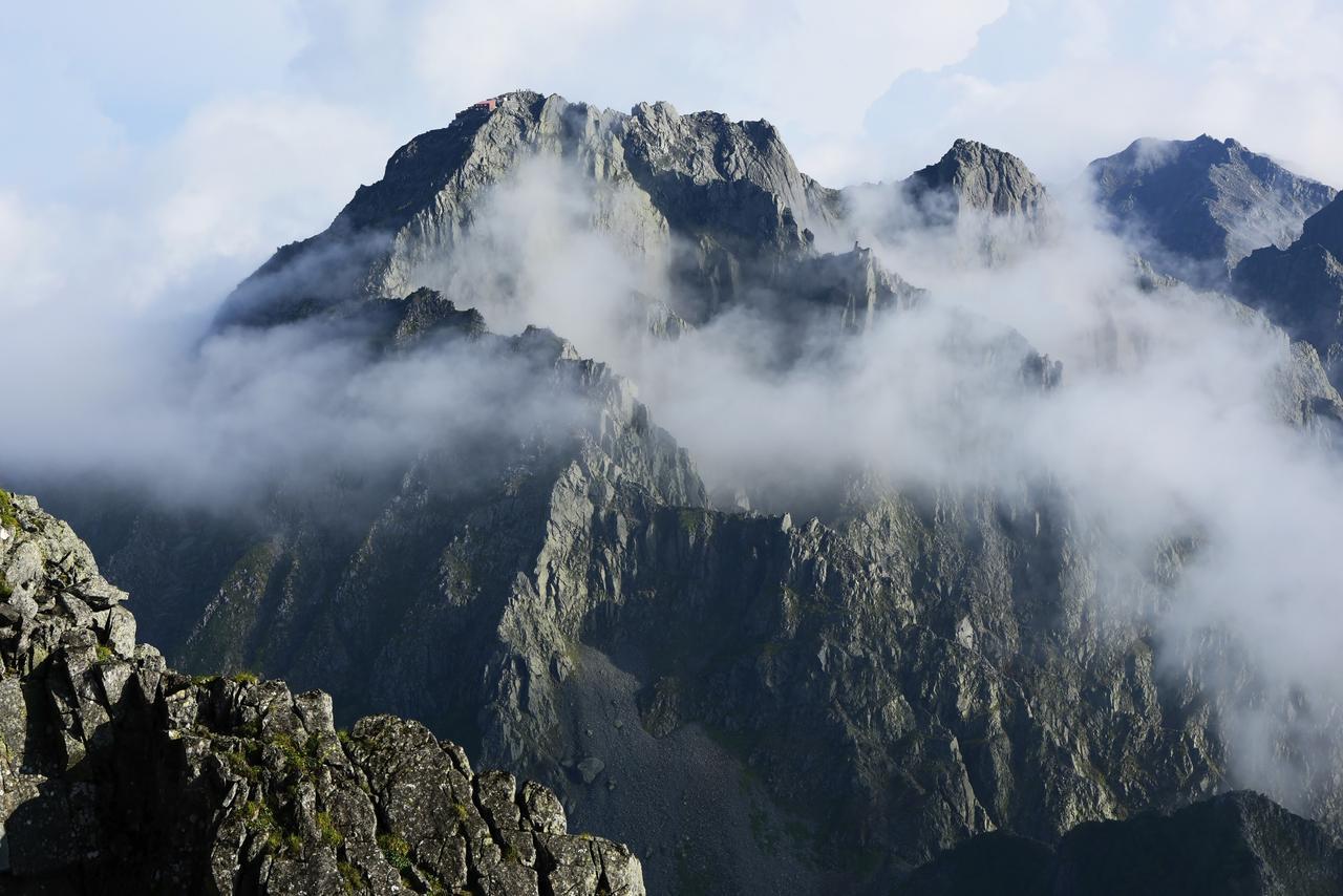 画像: 北アルプス・穂高連峰