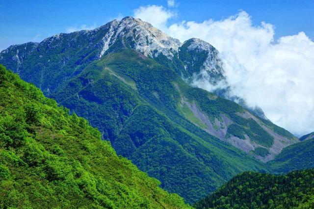 画像: 南アルプス・甲斐駒ケ岳