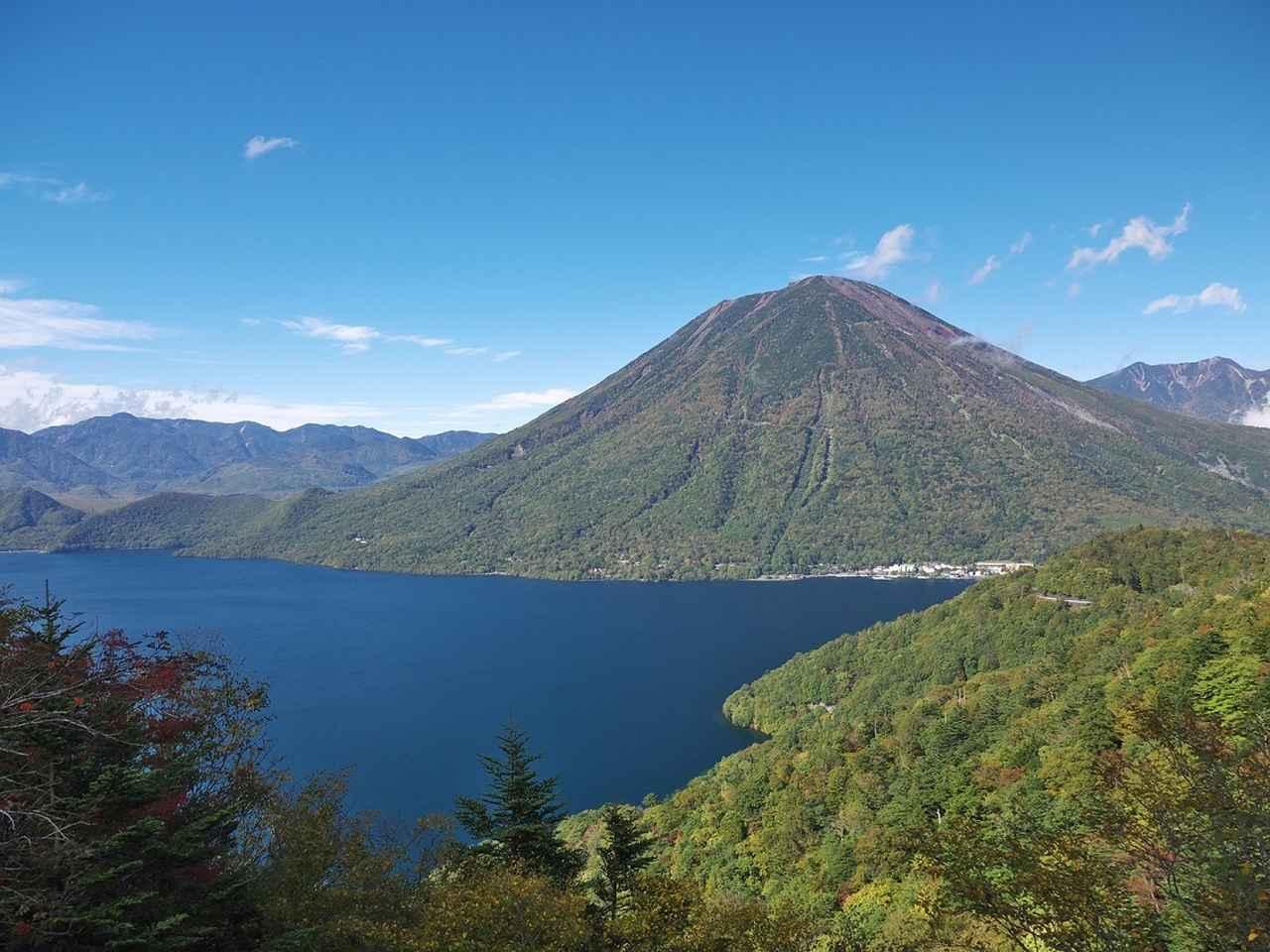 画像: 中禅寺湖と男体山(イメージ)