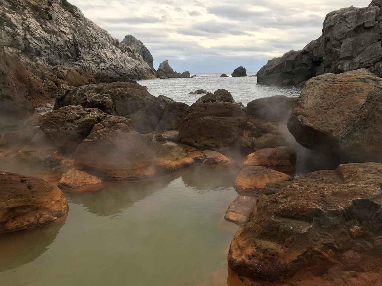 画像: 地鉈温泉からの景色(イメージ)