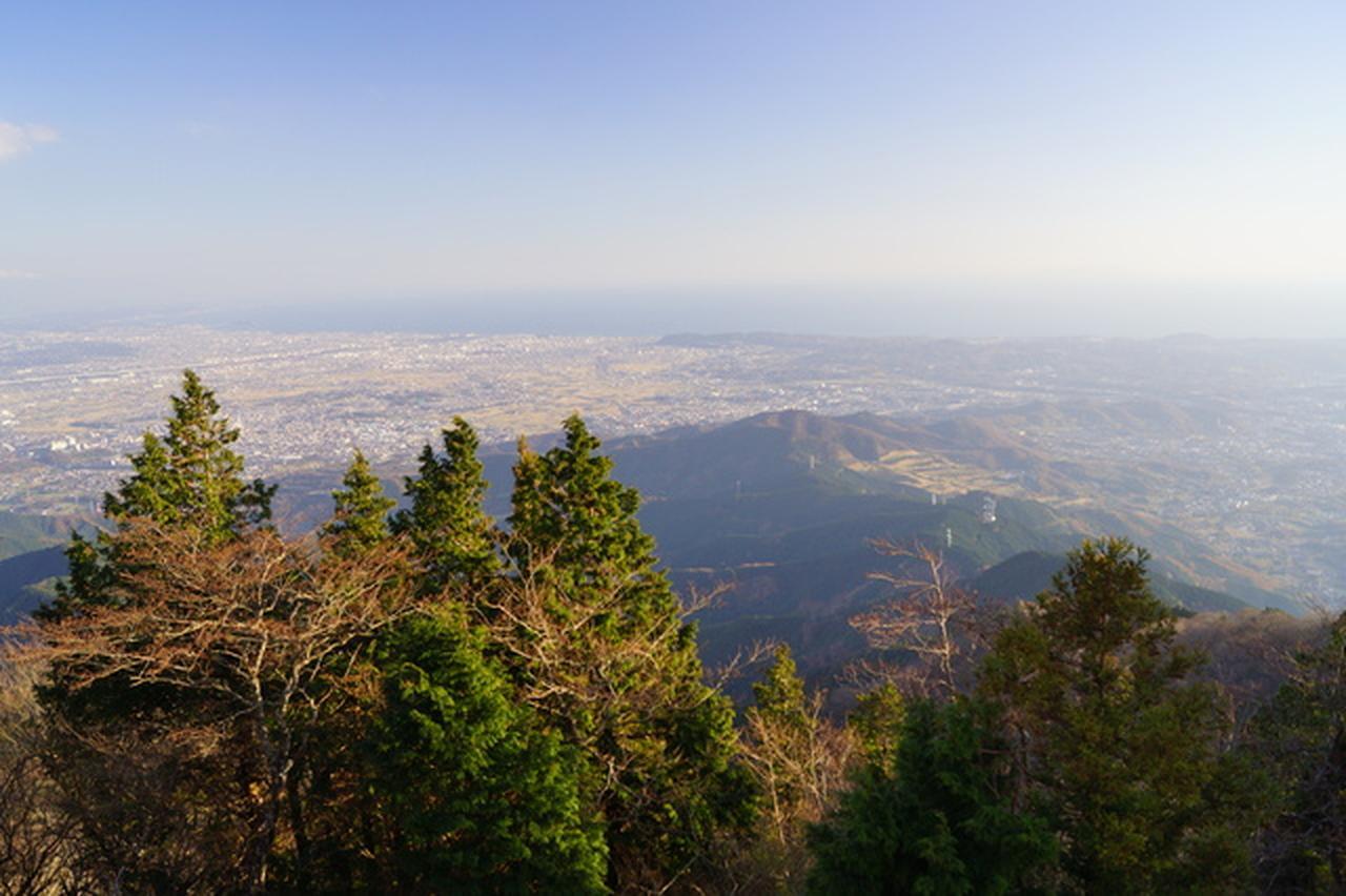画像: 大山山頂(1,252m)より望む景色(イメージ)