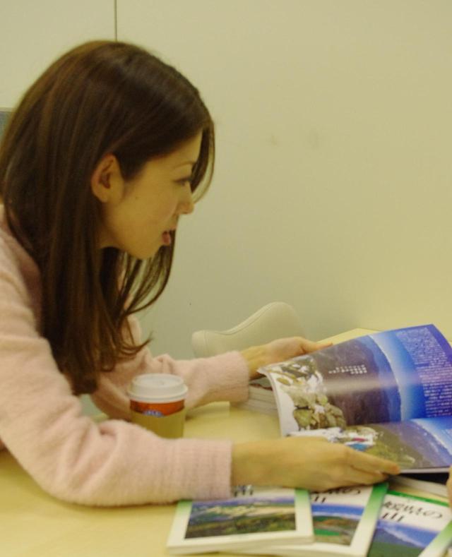 画像: 山ガールになりたい女子・齋藤です。 マンガ、エッセイ、コラム、小説、幅広く読みます。 好きな作家は寺山修二です。