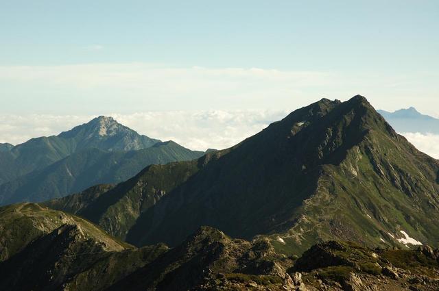 画像: 北岳(イメージ)