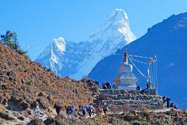 画像: ネパール・ヒマラヤ山間の風景(イメージ)