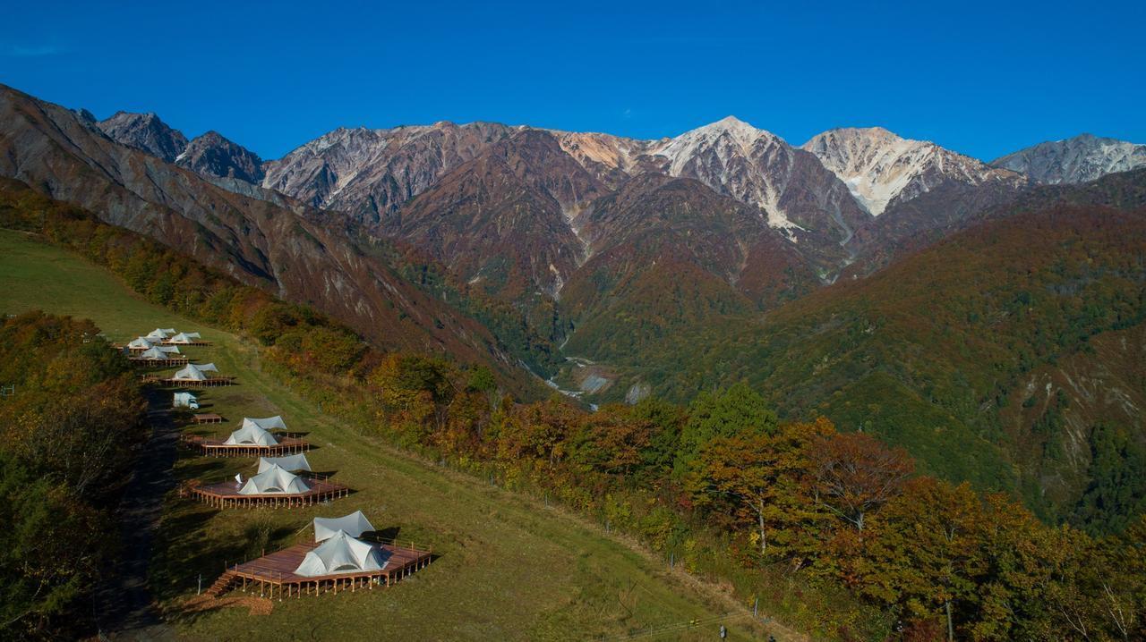 画像: 北アルプス・白馬連峰の山並みを一望(イメージ)