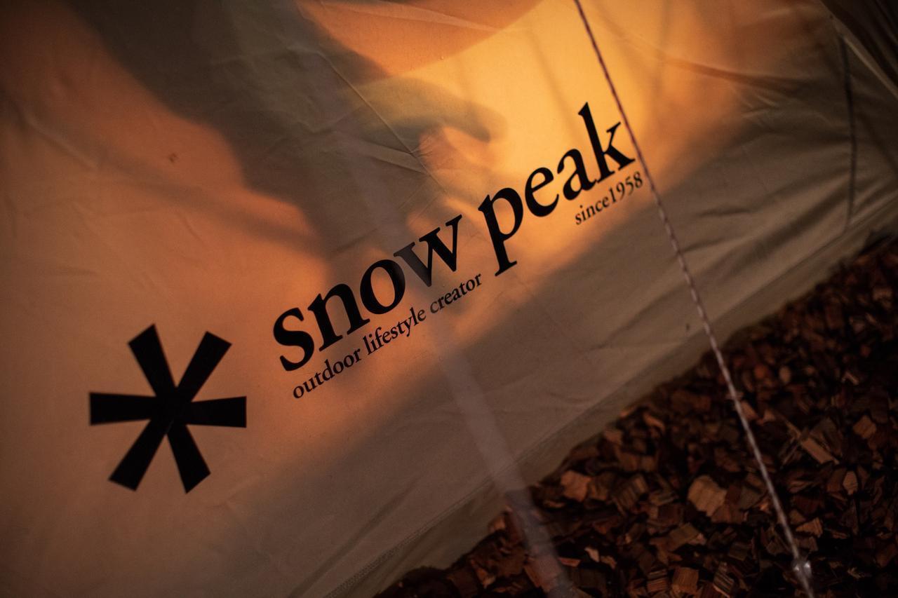 画像: snow peak社 特別仕様のテント(イメージ)