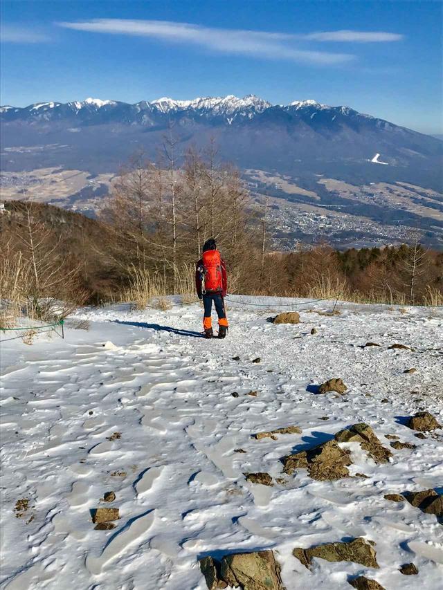 画像: 入笠山山頂で待っていた感動の大パノラマ