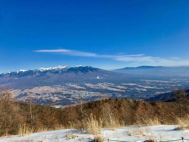 画像: 八ヶ岳連峰