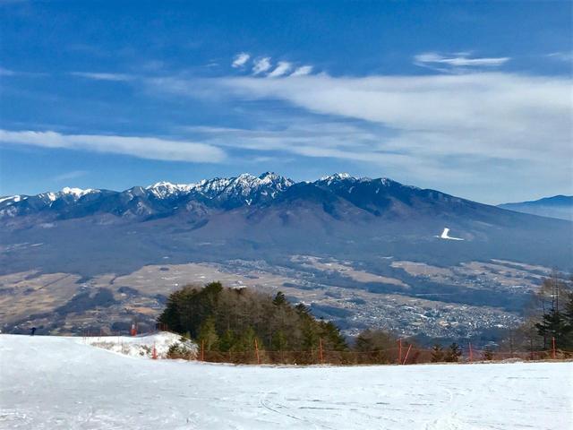 画像: 富士見パノラマスキー場からの八ヶ岳