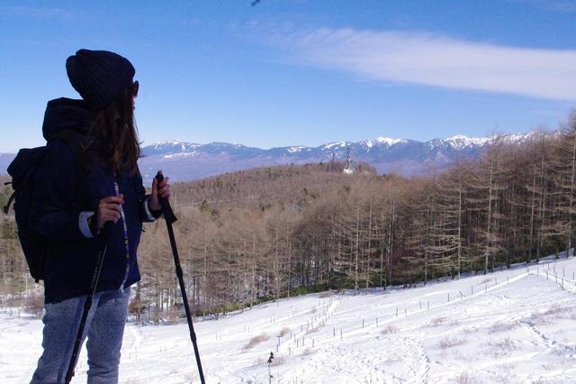 画像: 憧れの八ヶ岳連峰を眺めながら歩く心地良さ