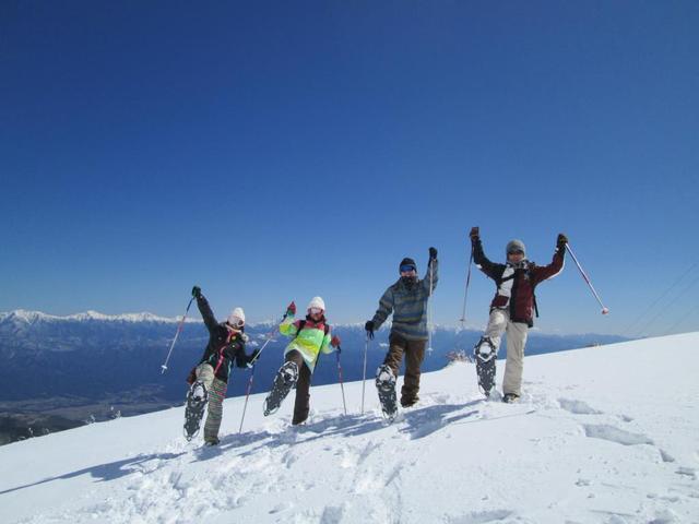 画像: スノーハイキングツアー特集