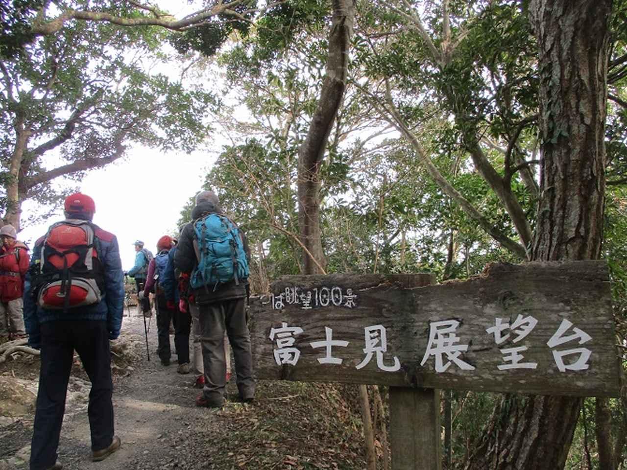 画像2: 新年山行で穂苅先生&岡田ガイドと千葉の 天神山と沖ノ島 へ♪