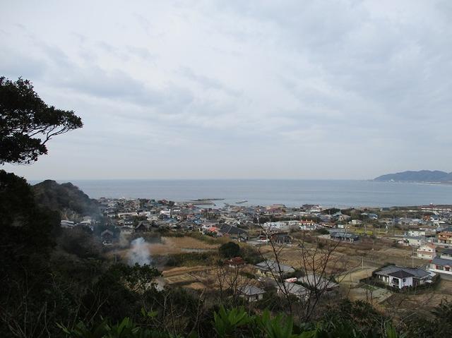 画像3: 新年山行で穂苅先生&岡田ガイドと千葉の 天神山と沖ノ島 へ♪