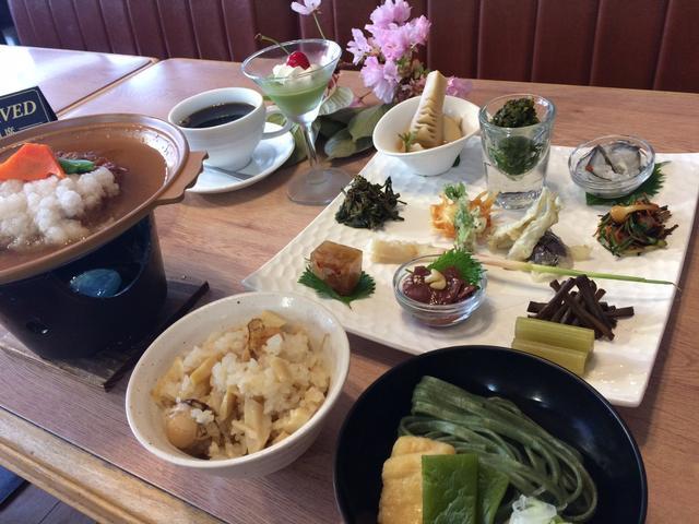 画像1: 昼食