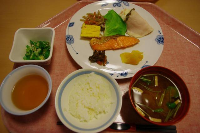 画像: 横尾山荘の朝食(一例)
