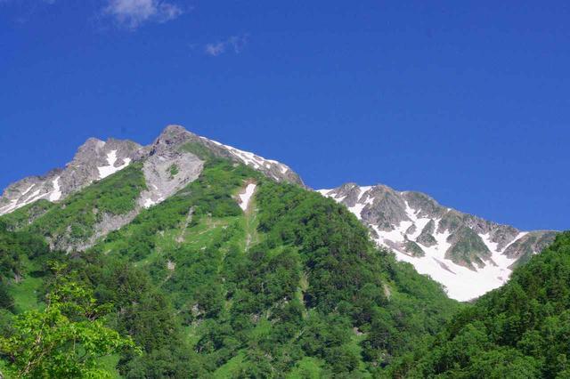 画像: 北穂高岳